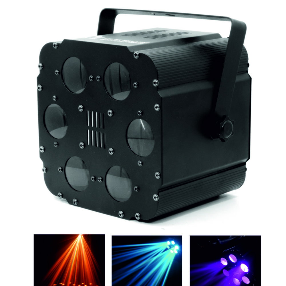 EFECTO LED TIPO FLOWER 20W