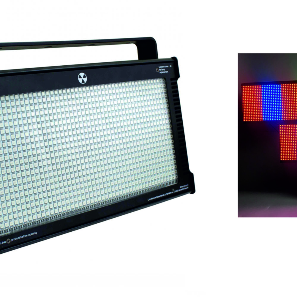 STROBO FLASH LED 1000W RGB
