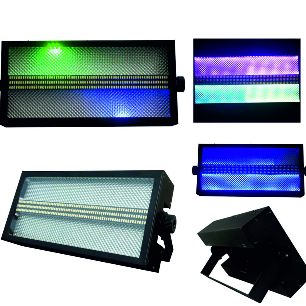 STROBO FLASH LED RGB 3 IN 1+BLANCO